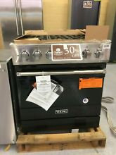 OC0105 RVDR3305BBK 30  Viking Freestanding Dual Fuel Range w 5 Sealed Burners