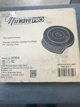 Precision Nuwave Pro Induction Cooktop w  Carrying Case  Red