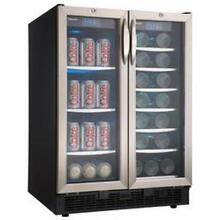 Danby 23 81 in  Silhouette 27 Bottle Wine and 60 Can Built In Beverage Cooler