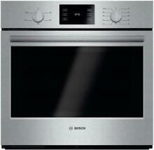 Bosch 500 30  4 6 Cu Ft Convectional Thermal Single Electric Wall Oven HBL5351UC