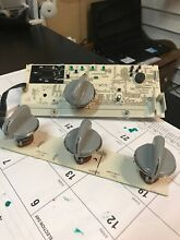 G E Washer Control Board With Knobs Used Good Wh12x10524