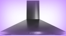 GE JVW5361BJTS 36  BLSSteel Pyramid Chimney Style Wall Mount Range Hood New 6774