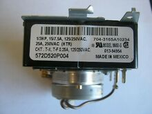 GE timer motor 572D520P004 Model M460 G dryer PLEASE READ DESC VIEW ALL PICTURES