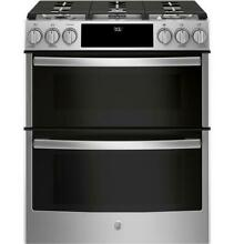 GE Profile PGS960SELSS 30  Stainless Smart Gas Double Oven Convection Range