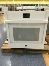 OC0265 JKS5000DNWW 27  GE Single Wall Oven with True European Convection