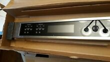 KITCHEN AID WHIRLPOOL DOUBLE OVEN CONTROL PANEL W11094512 W10884545 W10616824