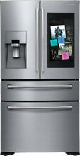Samsung RF28NHEDBSR 36 Inch 4 Door French Door Refrigerator with Family Hub