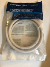 Eastman 5 Ft  PVC Icemaker Connector Hose 1200 PSI   0247009  Sealed Package