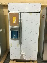 OC0343 PSB42YSKSS GE 42  Built In Side by Side Refrigerator WiFi Enabled