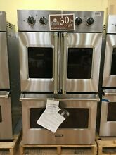 OC0380 VDOF730SS Viking 30  Double Electric French Door Convection Oven