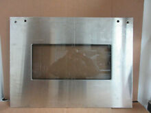 Whirlpool Double Oven Outer Door Panel Stainless Part   4452479