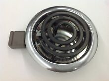 VINTAGE STOVE PARTS Thermador Electric Cooktop Small 4  Burner Element Pan Ring