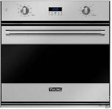 Viking 30 Inch 4 3 cu  ft Single SS Electric Convection Wall Oven RVSOE330SS