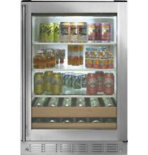 GE Monogram ZDBR240HBS Stainless Steel Beverage Center