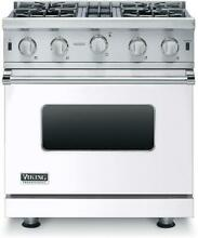 Viking 5 Series VGIC53014BWH 30 Inches White Pro Style Gas Range