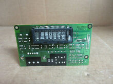 GE Oven MW Combo Microwave Control Board Part   WB27T10112