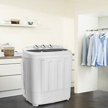 Compact portable washing machine spin camping college apartment