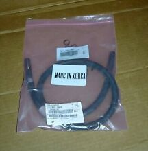 Genuine OEM   Samsung washer Water Hose With Claps    DC97 12985B