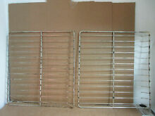 GE MW Oven Combo Oven Rack some wear stains Lot of 2 Part   WB48K5006