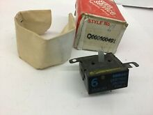 VINTAGE STOVE PARTS Q000600491 Westinghouse  Range 6  Small Infinite Switch NEW