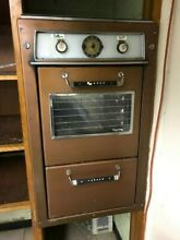 Vintage Tappan Electric Visualite Double Wall Oven Works Very Retro