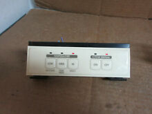 Whirlpool Dryer Switch Button Assembly Part   3406040