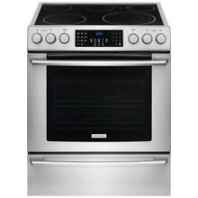 Electrolux IQ Touch EI30EF45QS 30  Freestanding Stainless Steel Electric Range