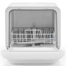 Dishwasher ISHT 5000 W compact up and down the nozzle cleaning white Japan Rare