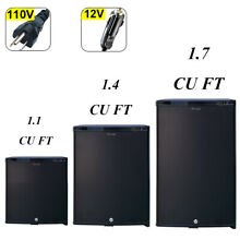Mini RV Refrigerator Truck Cooler 12V Quiet Fridge Hotel Dorm 1 1 1 4 1 7 cu ft