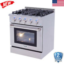 30  Gas Hob Cooktop 5 Burners Built In Stove Kitchen Cooker NG LPG Electric Oven