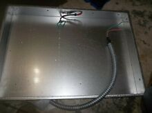 GE  30 INCH ELECTRIC COOKTOP COMPLETE BURNER BOX WB63X24094  FROM JP3030DJ3BB