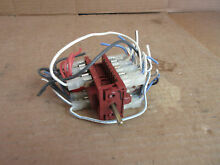 GE Double Wall Oven Switch Assembly Part   WB24X10019