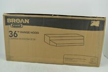 Broan 423623 Under Cabinet Range Hood  190 CFM 36 Inch  Black