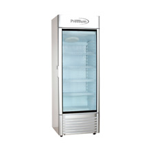 Premium 15 CuFt Single Glass Door Upright Display Cooler  Merchandiser Refrigera