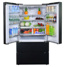 Counter Depth French Door Refrigerator Freezer Side by Side Fridge 22 7 cu ft US