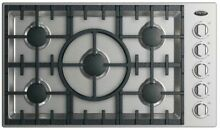 DCS CDV2365N 36 Inch Gas Cooktop with 5 Sealed Dual Flow Burners  Simmer Setting