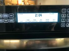 Dacor 30  Stainless Steel Double Wall Oven control panel only