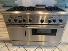 Thermador Oven Range   48 Inch   Used