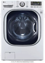 LG 27  Front Load Washer Dryer Combo 4 3 cu  ft  14 Wash Cycles WM3997HWA