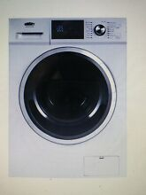 Summit 2 7 cu ft All in One Washer and Electric Ventless Dryer White SPWD2202W