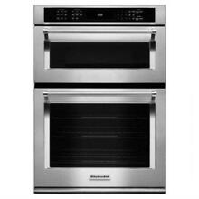 Kitchenaid 30  Stainless Steel Built In Microwave Combination KOCE500ESS