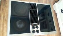 Jenn Air 30  Stainless Electric Downdraft Cooktop Jenn Air JED8230 tested