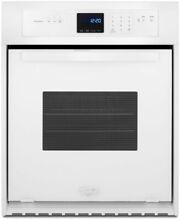Whirlpool WOS11EM4EW 24  Single Electric Wall Oven  White  NEW IN BOX