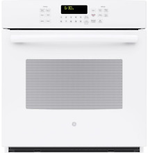 GE Profile  Series 27  Built In Single Convection Wall Oven WHITE PK7000DFWW