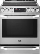 LG STUDIO LSSE3026ST 30  Slide In Electric Range with Convection