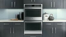 GE Profile  Series 30  Built In Double Convection Wall Oven Model  PT9550SFSS
