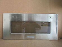 KitchenAid Microwave Oven Outer Door Panel Part   8304455 WPW10237363
