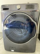Samsung washer 5 6 Cu  Ft  15 Cycle High Efficiency Steam Front  Loading Washer