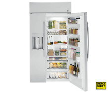GE Profile 42  Built In Side by Side Refrigerator with dispenser PSB42YSKSS