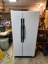 HOTPOINT CSX20BA  SIDE by SIDE  REFRIGERATOR FREEZER  USED  GREAT CONDITION